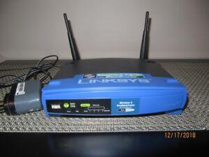 Router Linksys EA6400 + 3 autres items a voir