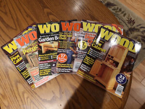 80 Issues of Wood Magazine