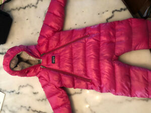 Infant Patagonia down snow suit