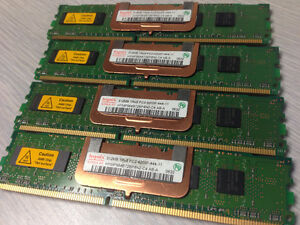 Hynix 512 MB PC2-4200 DDR2 Memory - 4 sticks (2GB) Edmonton Edmonton Area image 1