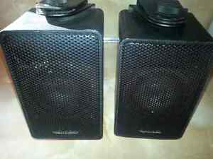 PAIR  REALISTIC  HOUSE SPEAKERS..