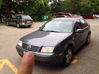 2004 vw Jetta needs engine as is