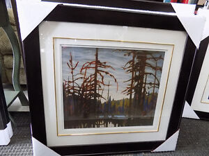 Picture Lake Superior Lawren Harris Signed and #'d 727-5344 St. John's Newfoundland image 3