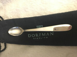 Sterling Silver Baby Spoon