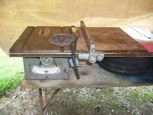 Table saw Delta cast table and base older high quality