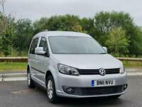 2011 Volkswagen CADDY LIFE 1.6 TDI 5dr DSG MPV Diesel Automatic