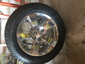 """New 20"""" Chevrolet Rims and tires"""