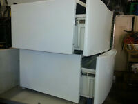 Laundry Pedestals drawers 2 for $90
