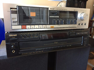 TEAC cassette deck and CD Player (non functional) to give away
