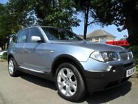 BMW X3 2.0D 2005 SPORT COMPLETE WITH M.O.T HPI CLEAR INC WARRANTY