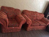 3+2+1+ foot rest sofa set
