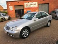2003(53) Mercedes-Benz C200 Kompressor 1.8 auto Elegance SE, *ANY PX WELCOME*
