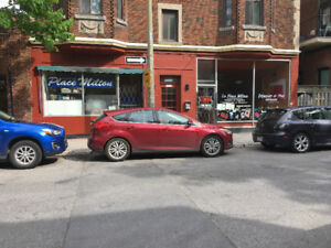Restaurant space for rent in McGill Ghetto