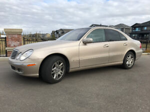 2006 Mercedes-Benz E-Class 4 Matic Sedan