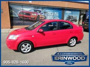2007 Chevrolet Aveo ROOF / PWR GRP / ALLOYS / LOW KM'S !!