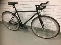 FOFFA SINGLE SPEED BIKE BLACK SIZE 48CM
