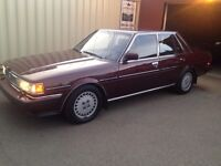 1987 TOYOTA CRESSIDA, 58,000 kms ONLY
