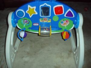 LITTLE TYKES ACTIVITY GYM***great deal, exc toy