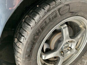 MICHELIN WINTER ICE TIRES & RIMS