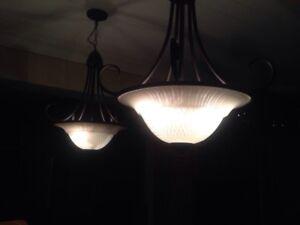 Beautiful chandeliers