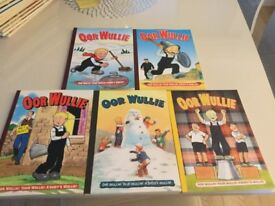 Oor Wullie annuals for sale 21 in total
