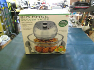 Big Boss Oil-Less Fryer For Sale At Nearly New Port Hope