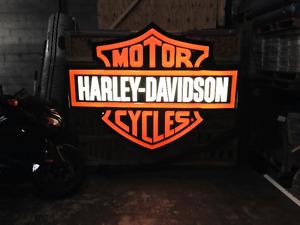HARLEY DAVIDSON SIGN FOR SALE