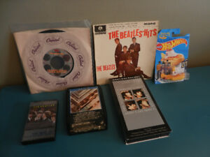 The Beatles Hot Wheel, 45 rpm, 8 track tape,VHS,Cassette,Cover