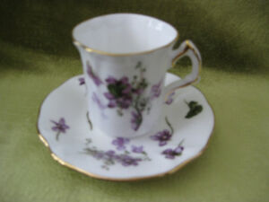 Demitasse, Hammmersley in the Victorian Violets