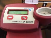 Key cutting machine Bianchi 883 transponder machine