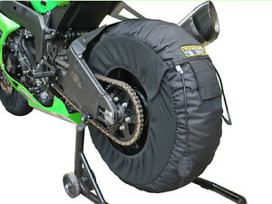 New Woodcraft Motorcycle Track Tire Warmers Generation III