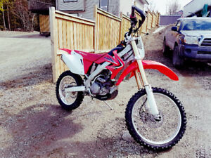 Low hour Honda CRF250X