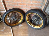 Yamaha XT125x wheels
