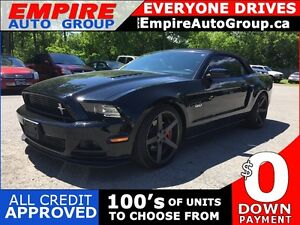 2014 FORD MUSTANG GT * FULLY LOADED * LEATHER/CLOTH * NAV * LOW