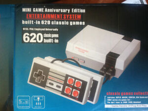 new in box built-in 620 classic games