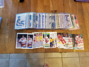 HOCKEY CARDS - 54 ROOKIE CARDS - YOUNG GUNS