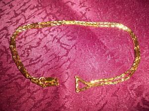 18k Solid Yellow Gold Necklace