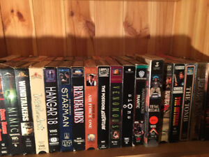 200 Action movies VHS & DVDs