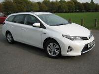 2014 63 REG Toyota Auris 1.8 VVT-i HSD ( 136bhp ) E-CVT (ZERO ROAD TAX)