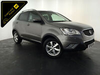 2011 61 SSANGYONG KORANDO EX 4WD AUTOMATIC 1 OWNER SERVICE HISTORY FINANCE PX