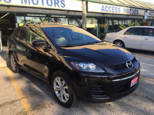 2011 Mazda CX-7 GS CLEAN CARPROOF,LEATHER SEATS SUNROOF 11 CX 7