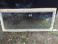 Aluminium framed glass Caravan windows