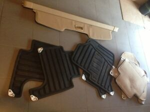 Range Rover sport mats and cargo cover