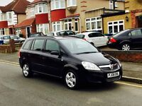 2008 Vauxhall Zafira 1.6, 7 Seater with MOT & Service History, Super Low Miles, Cheap 4 Insurance