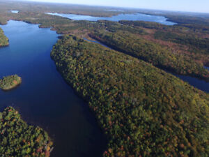 Good selection of Lakefront lots near Bridgewater