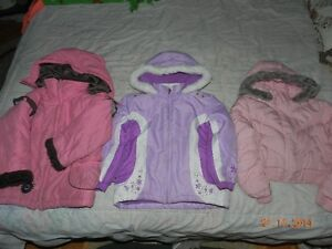 Manteaux filles 5 ans / Winter coats for girls 5 yrs. West Island Greater Montréal image 1