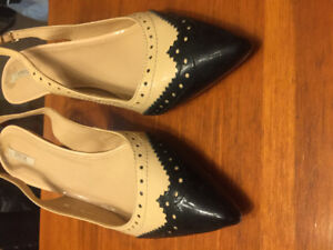 Beautiful Italian patent leather shoes - Geox