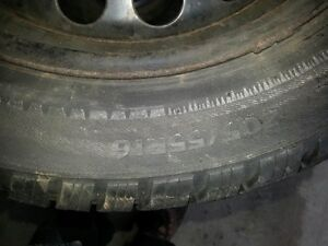 4x snow tires and rims 205/55/r16 Stratford Kitchener Area image 2