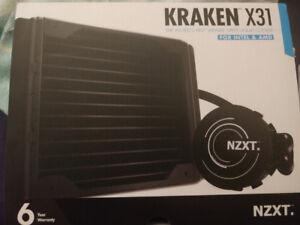 NZXT Kraken x31 120mm AIO liquid cooler + Kraken G10