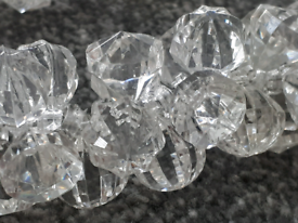 2x Dunelm Swish Neve Crystal Tie backs